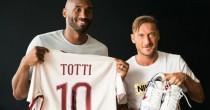 """Totti a Bryant: """"Sarà la <br /> mia ultima stagione"""""""