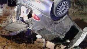 Taranto, auto contro muro: 2 morti e 2 feriti