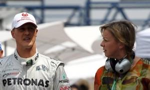 """La frase che gela il sangue, stavolta parla la manager Sabine: """"La verità su Schumacher...?"""""""