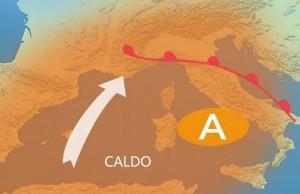 Guarda la versione ingrandita di Meteo, da mercoledì 20 luglio caldo, afa e umidità record