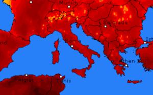 Meteo fine luglio: nuova ondata di caldo. Temperature fino a 38°