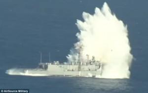 5 kg esplosivo per farla affondare666