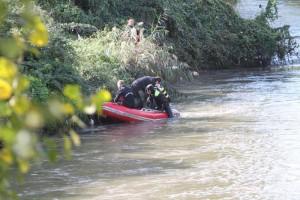 Guarda la versione ingrandita di Piacenza, 23enne muore annegato nel fiume Trebbia
