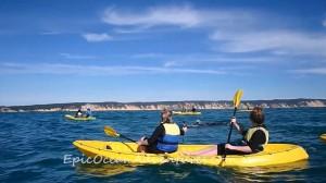 YOUTUBE Megattera intrappolata nella rete da pesca chiede aiuto a canoisti 7