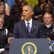 Barack Obama parla a Dallas, la poliziotta...4