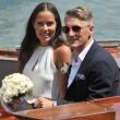 Bastian Schweinsteiger sposa la tennista Ana Ivanovic a Venezia