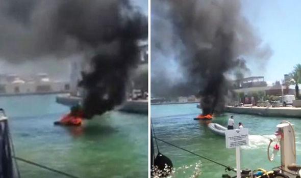 Ibiza, yacht prende fuoco durante rifornimento: 2 feriti gravi