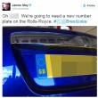 Brexit, automobilisti cancellano stelle dorate Ue dalle targhe2