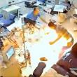 Brucia reparto dialisi ospedale Tirana 2 morti5