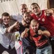 Capo ultras CSKA Sofia, matrimonio con fumogeni e cori da stadio4