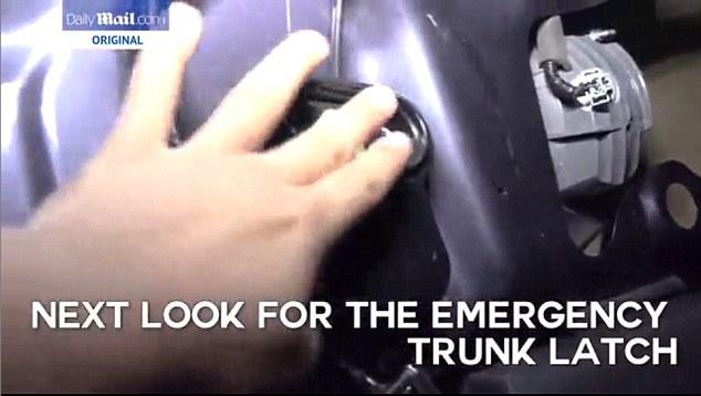 Come scappare dal bagagliaio di un'auto5