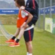 David Luiz ha le gambe cortissime: illusione ottica in allenamento