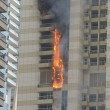Dubai, domato incendio grattacielo Sulafa Tower2