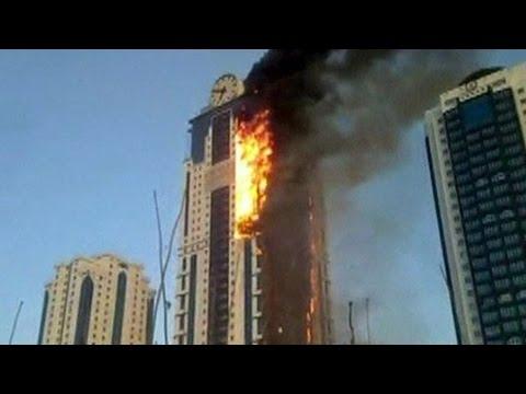 Dubai, domato incendio grattacielo Sulafa Tower5