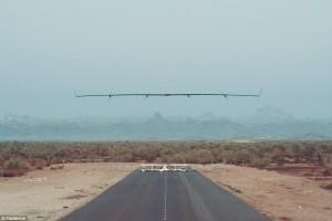 Facebook prova Aquila, drone che porterà internet6