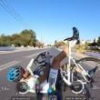 GoPro sul caschetto riprende caduta dei tre ciclisti8