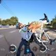 GoPro sul caschetto riprende caduta dei tre ciclisti7