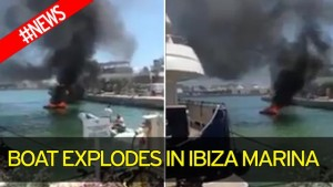 Guarda la versione ingrandita di YOUTUBE Ibiza, yacht prende fuoco durante rifornimento: 2 feriti gravi