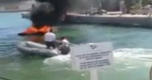 Ibiza, yacht prende fuoco durante rifornimento: 2 feriti gravi7