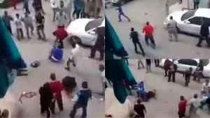 Guarda la versione ingrandita di YOUTUBE Il Cairo, vuole decapitare moglie: folla salva la donna