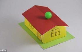YOUTUBE Illusione ottica: tetto rivolto verso basso…ma le palline non cadono