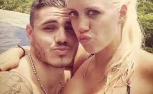 Mauro Icardi e Wanda Nara (foto Instagram)