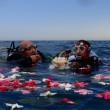 Matrimonio sott'acqua a Jesolo: sposi in muta da sub2