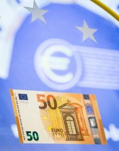 Nuova banconota da 50 euro FOTO in vigore dal prossimo aprile