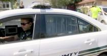 Agente con bodycam salva <br /> 3 figli dal padre che spara