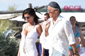 Roberto Mancini a Saint Tropez con una mora misteriosa5