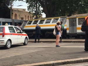 Roma, scontro tram tra tram e trenino a Porta Maggiore4
