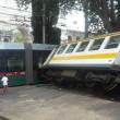 Roma, scontro tram tra tram e trenino a Porta Maggiore FOTO-VIDEO