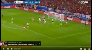 Ashley Williams VIDEO gol Galles-Belgio 1-1