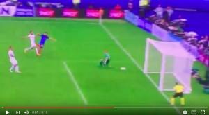 Olivier Giroud VIDEO gol Francia-Islanda 1-0