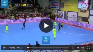 Carles Puyol VIDEO gol di tacco a Futsal in Kuwait