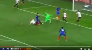 Antoine Griezmann VIDEO gol Germania-Francia 0-2
