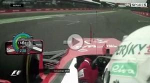 YOUTUBE Sebastian Vettel rompe cambio a Silverstone: retrocesso