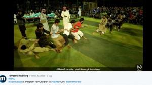 Isis lancia Olimpiadi stile Jihad: tiro alla fune e palloncini FOTO