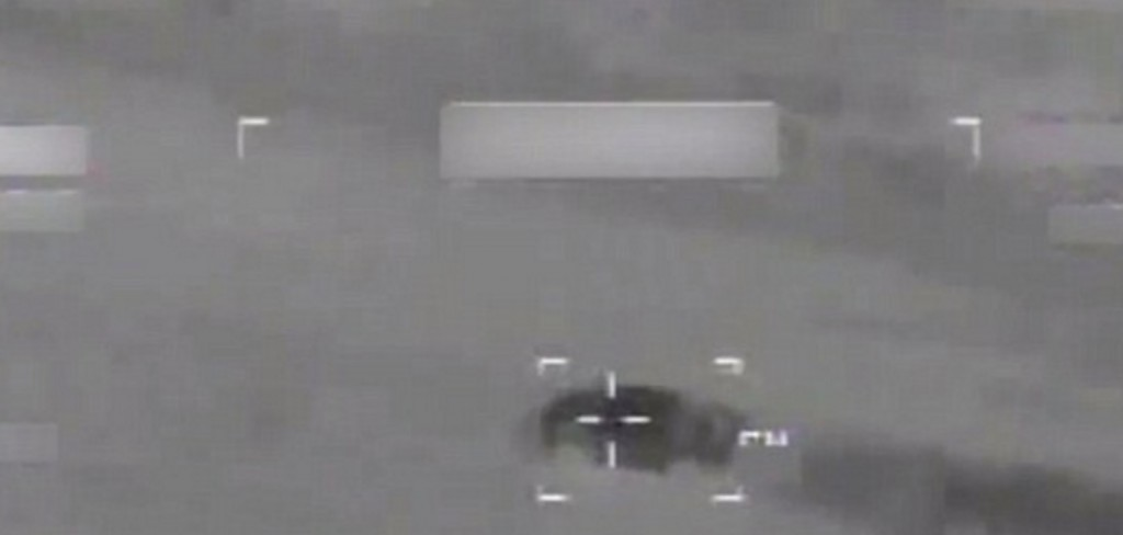 YOUTUBE Missili Usa colpiscono più obiettivi Isis simultaneamente 3