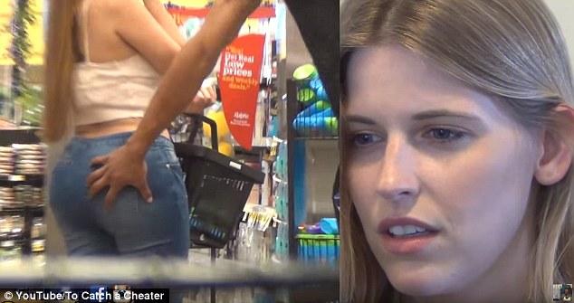 Telecamera nascosta mostra il fidanzato che la tradisce 4