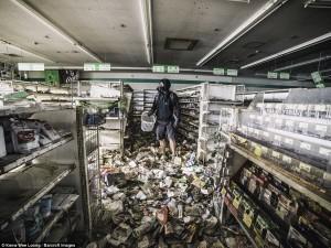 YOUTUBE A Fukushima 5 anni dopo negozi abbandonati, semafori accesi e nessun umano