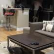 Lascia chiavi a dog sitter: guarda telecamera in soggiorno2