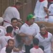 San Firmino, toro sta per incornare donna5