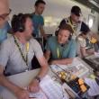 Tour de France, ai telecronisti della Bbc crolla la scrivania2