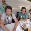 Tour de France, ai telecronisti della Bbc crolla la scrivania