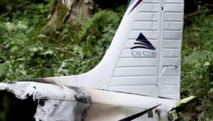 Slovenia: FOTO aereo precipitato con quattro persone