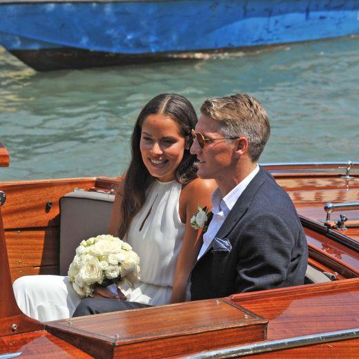 YOUTUBE Ana Ivanovic e Bastian Schweinsteiger matrimonio a Venezia FOTO3