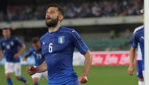 Guarda la versione ingrandita di Antonio Candreva (foto Ansa)