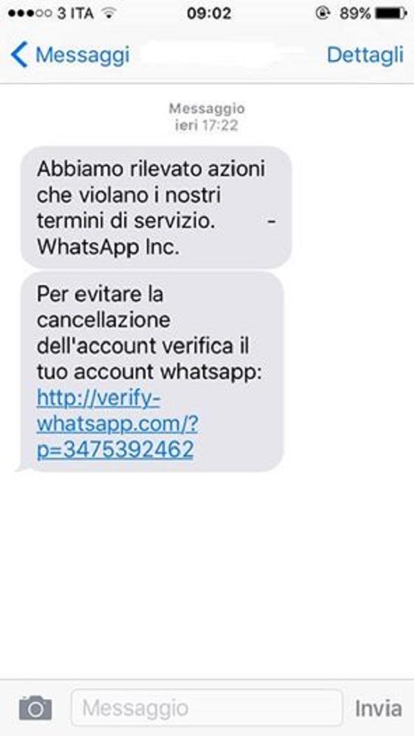 """WhatsApp, nuova truffa. La polizia: """"Non aprite quel link"""""""