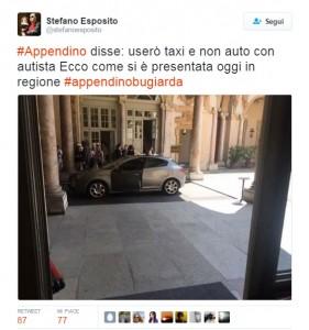 """""""Chiara Appendino in auto blu, bugiarda"""": FOTO-denuncia del Pd"""
